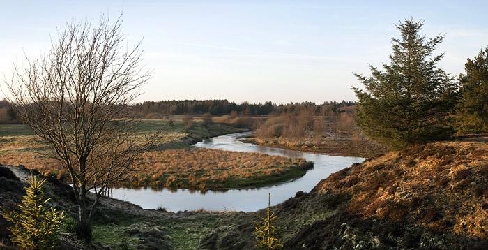 Lystfiskerforeningen af 1926 har fiskeret i de smukkeste landskaber ved Skjern Å.
