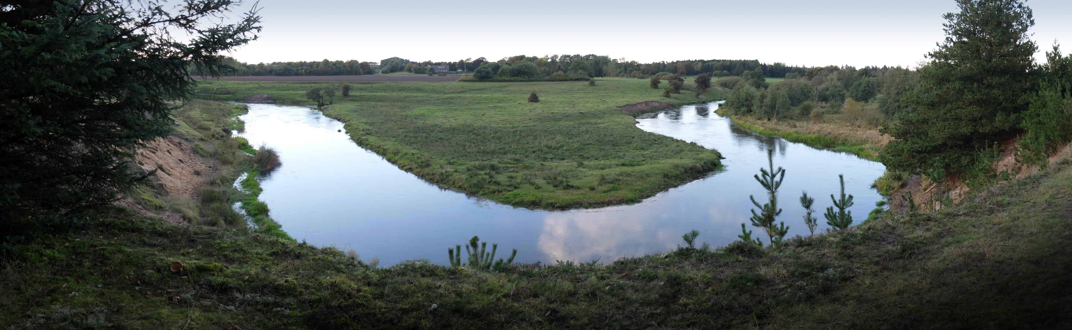 Skjern Å ved Skarrild er måske Danmarks smukkeste laksevand