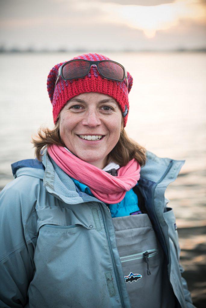 Silja Longhurst er professionel lystfiskerguide.